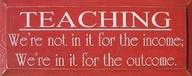 teaching for outcome